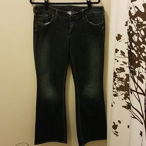 Silver Jeans Aiko Western Glove Works
